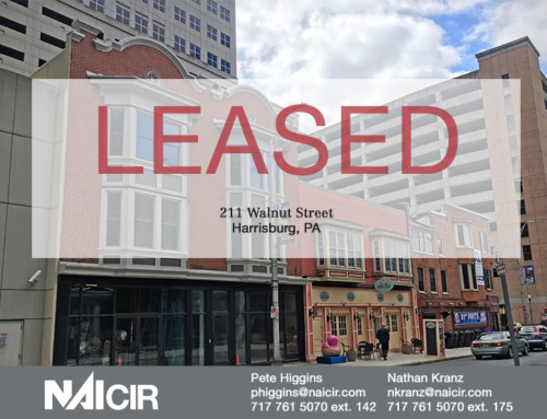 211 Walnut Street Now Fully Leased in Harrisburg City