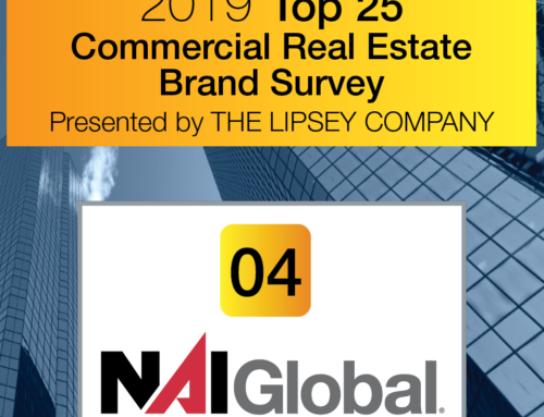 NAI Global Ranked Among Top Five Commercial Real Estate Brand in the 18th Annual Lipsey Survey