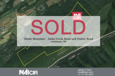 553 Acre Plot Shade Mountain Sold
