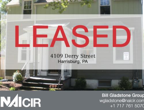 LEASED – 4109 Derry Street, Harrisburg