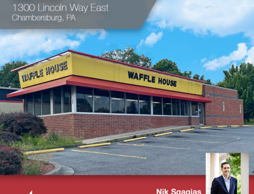 Former Waffle House in Chambersburg Sold to Range 3, LLC